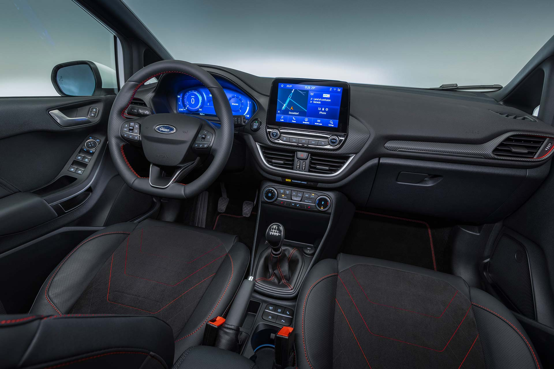 Interior Ford Fiesta 2022
