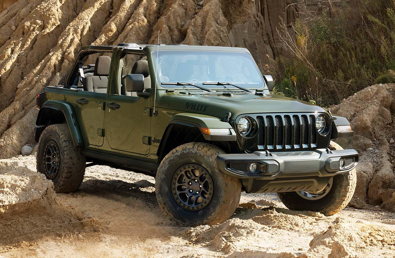 Un Jeep Wrangler Willys para ir a la guerra