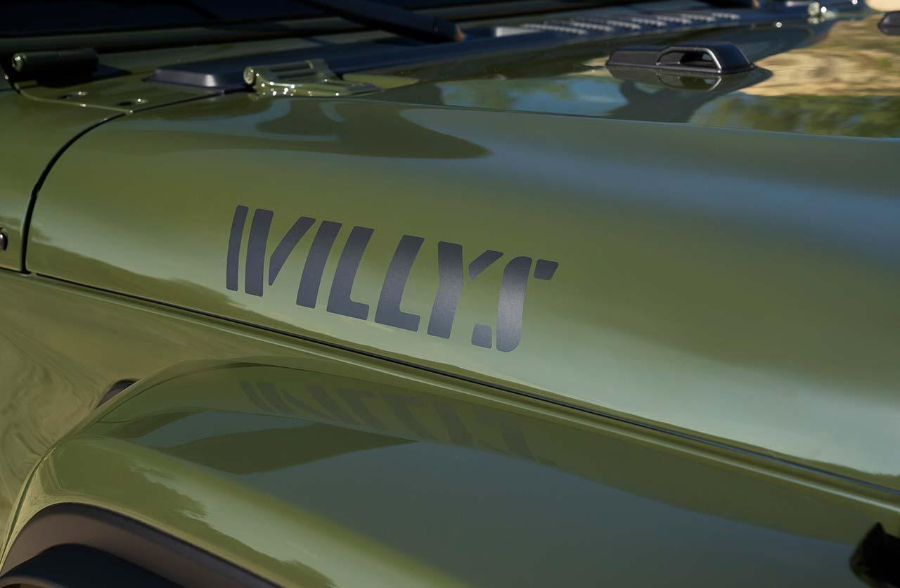 Jeep Wrangler Willys Xtreme Recon