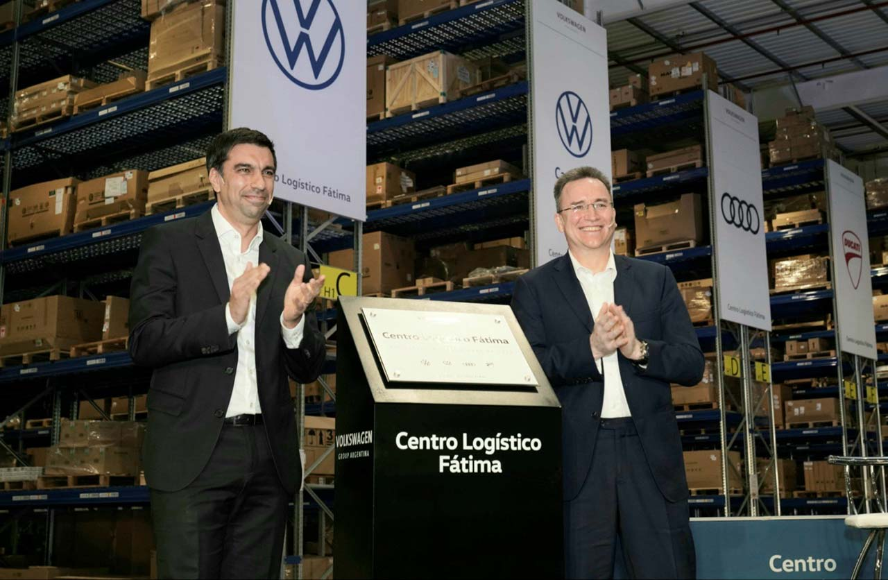 Volkswagen tiene un nuevo Centro Logístico en Pilar