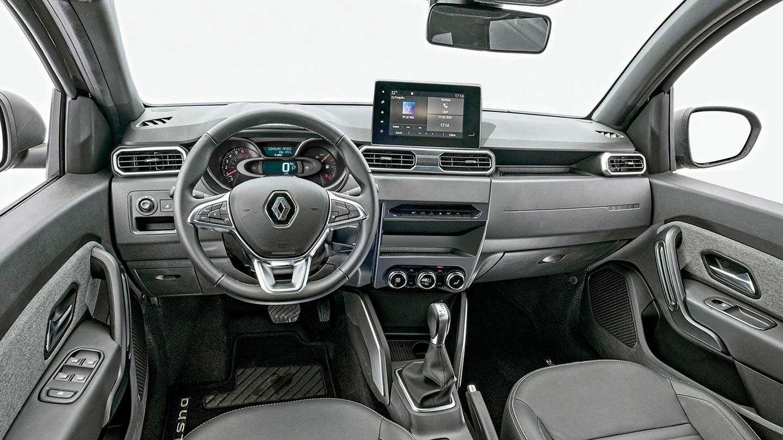 Interior Nueva Renault Oroch Turbo render