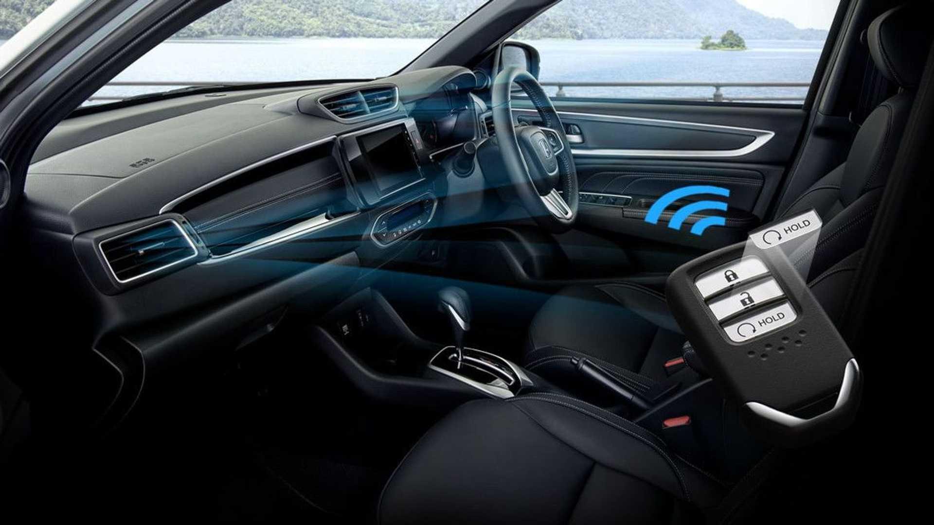 Interior Honda BR-V 2022