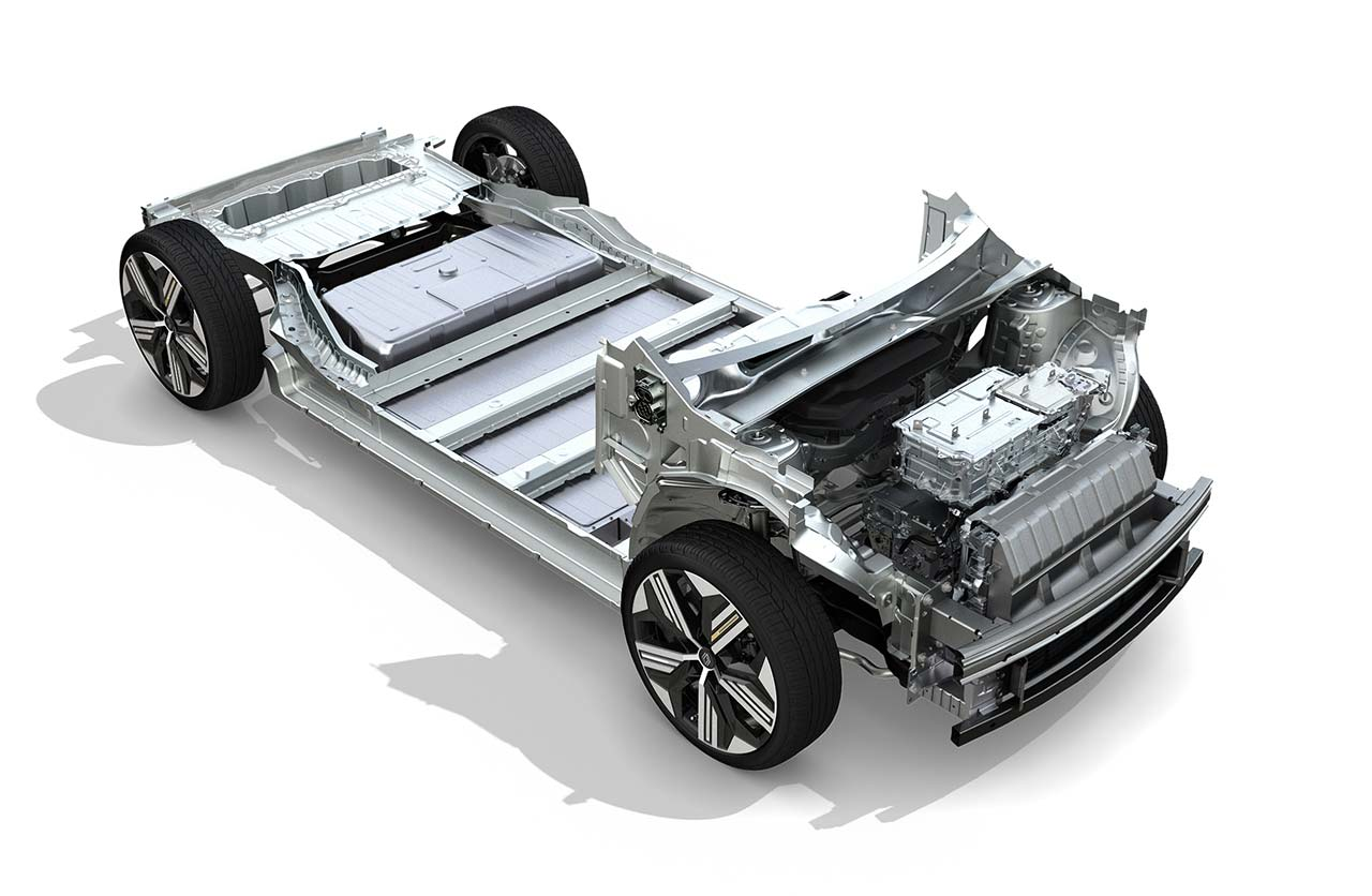 Plataforma Renault Mégane E-Tech Electric