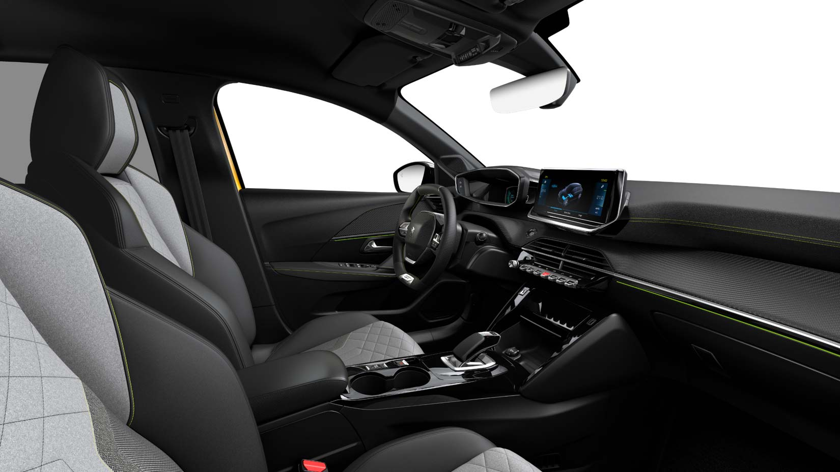 Interior Peugeot e-208 GT