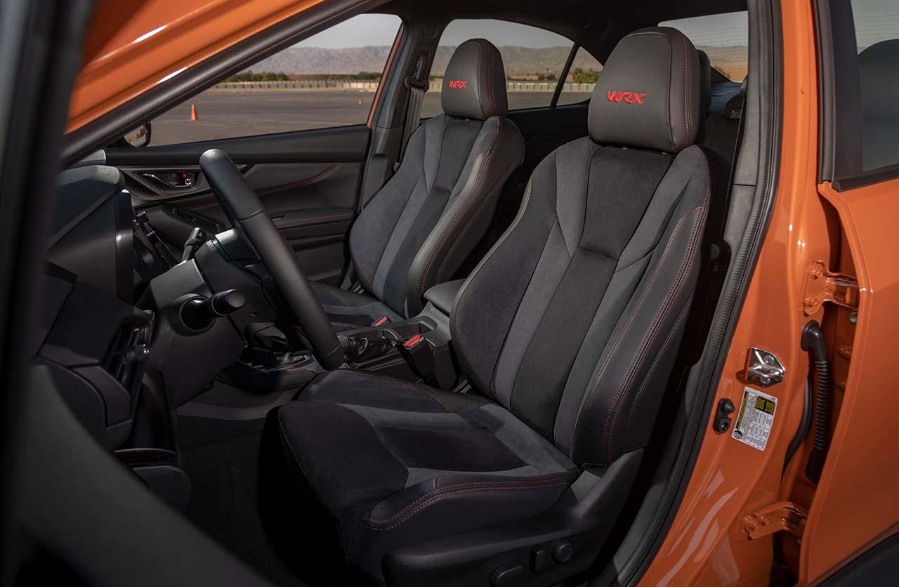 Butacas Subaru WRX 2022