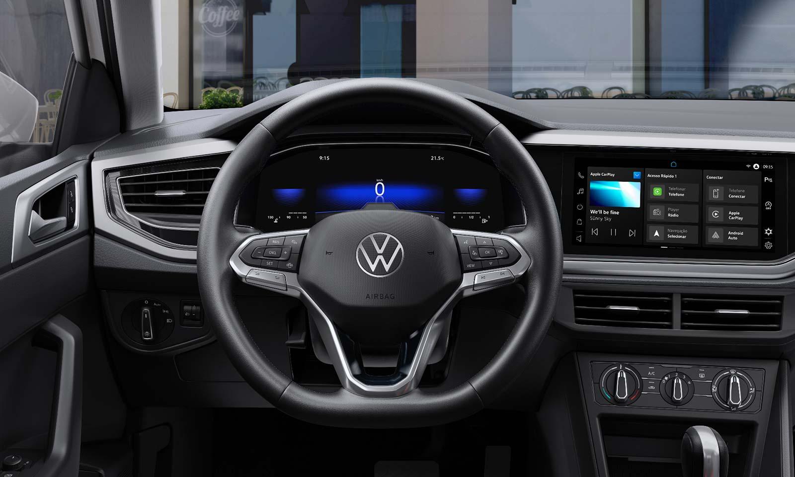 Interior Volkswagen Nivus 2022