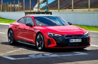 Audi presentó (y nos prestó) el RS e-tron GT