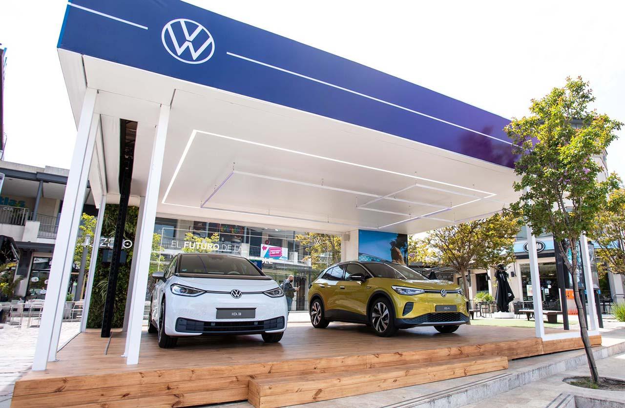 Volkswagen exhibe los ID al público en Nordelta