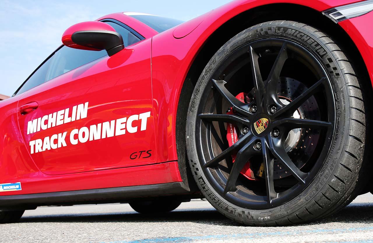 Michelin presentó el primer neumático conectado en Argentina