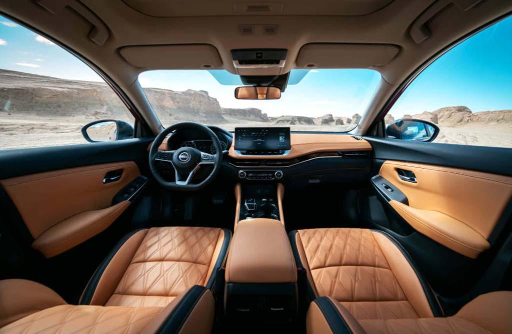 Interior Nuevo Nissan Sentra híbrido
