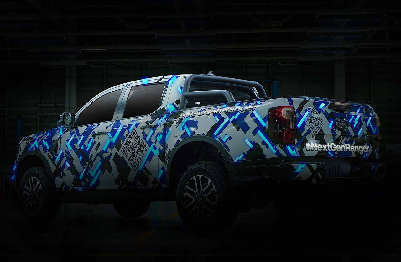 Nueva Ford Ranger 2023 oficial