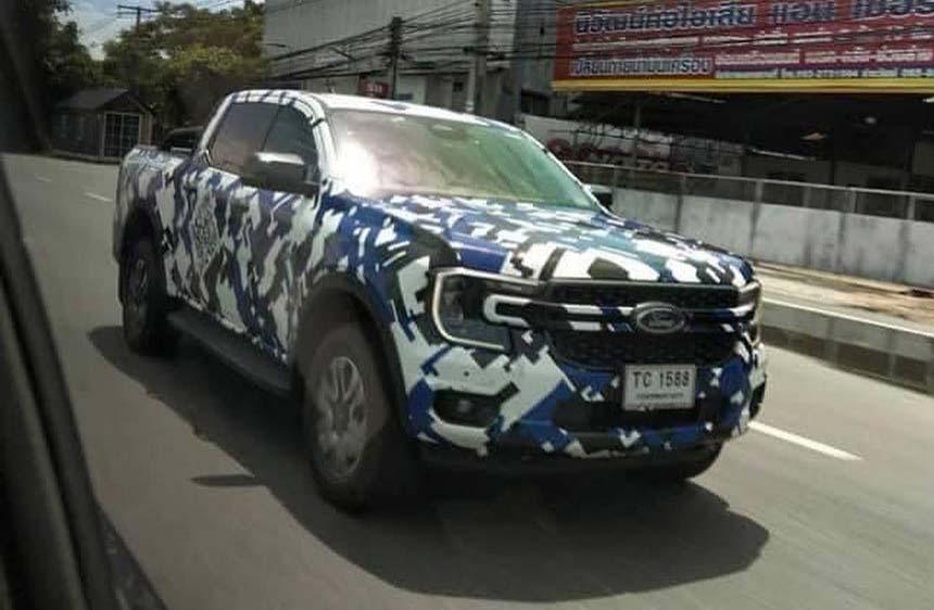 Así es la cara de la nueva Ford Ranger