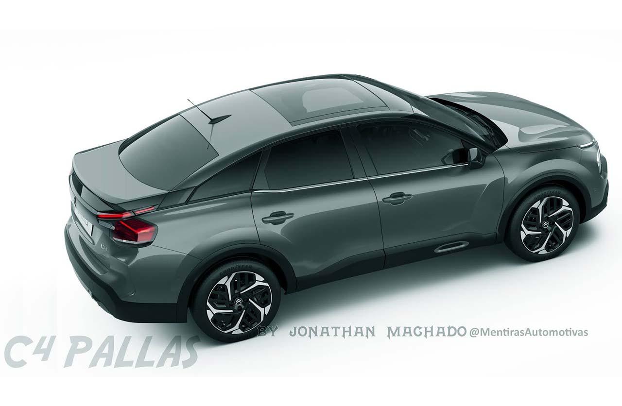 Anticipan un nuevo sedán de Citroën
