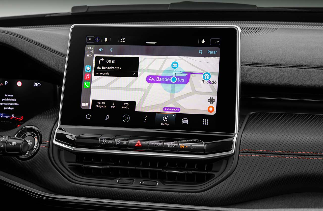 Interior Nuevo Jeep Compass 2022
