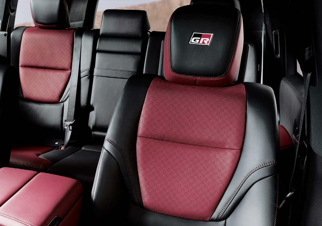 Interior Nueva Toyota Land Cruiser 300 GR-S