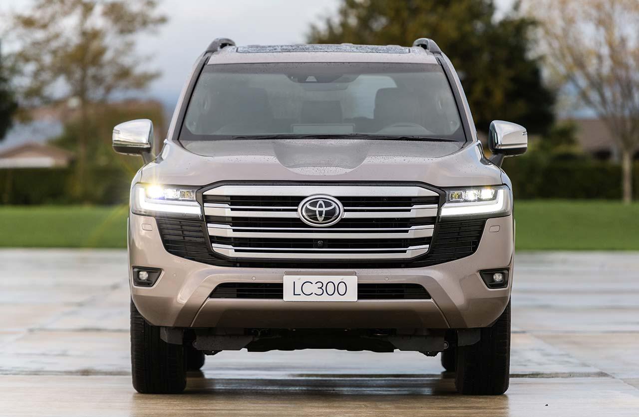 Nueva Toyota Land Cruiser 300